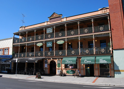 Royal Hotel, Bathurst, NSW.