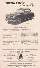 Borgward Hansa 1800 (1952-54)