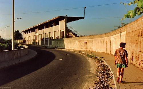 Portugal: Mondim de Basto soccer stadium