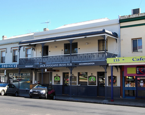 Jack Duggans Irish Pub, Bathurst, NSW.