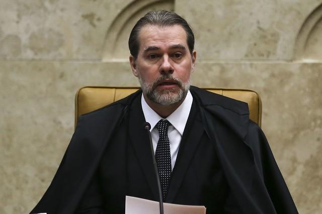 Dias Toffoli, presidente do Supremo, criticou os resultados da operação - Créditos: José Cruz/Agência Brasil