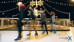 Ecological ice rink in Canada