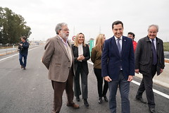 2019_12_18  Puesta en servicio de la duplicación de la carretera A-392 en la autovía Alcalá de Guadaíra-Dos Hermanas