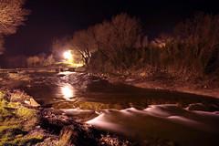 FR11 3465 La rivière l'Orbieu. Lagrasse, Aude, Languedoc