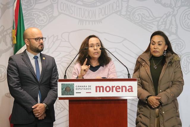 05/12/2019 Conferencia de Prensa Dip. Jorge Luis Montes Nieves