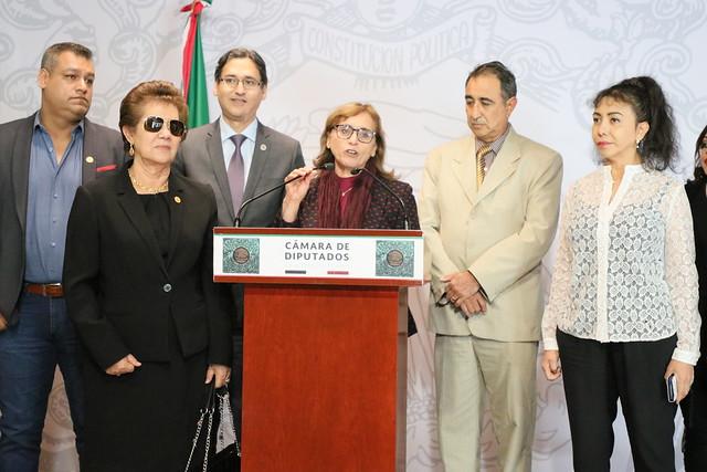05/12/2019 Conferencia de Prensa Dip. Marivel Solís Barrera