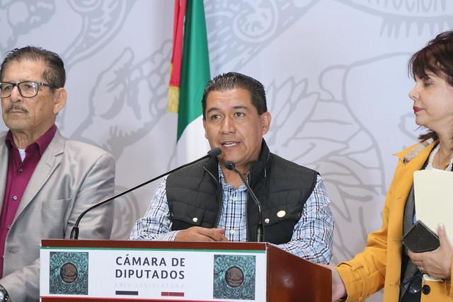 05/12/2019 Conferencia de Prensa Dip. Claudia Yañez Centeno