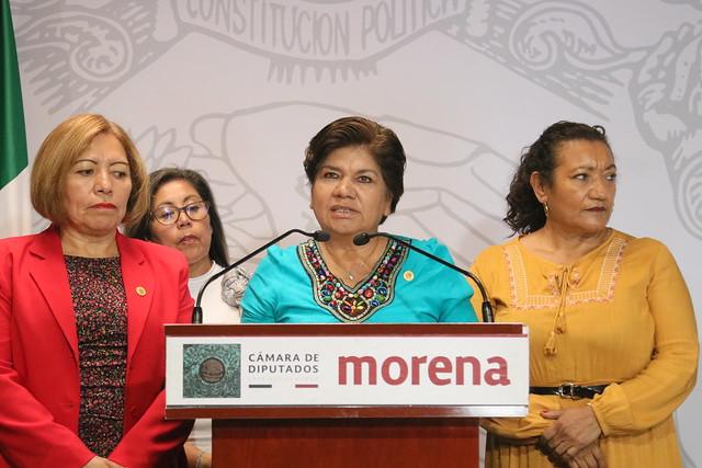 05/12/2019 Conferencia de Prensa Dip. María Eugenia Hernández Pérez