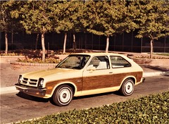 1976 Chevrolet Chevette Woody Two-Door Coupe