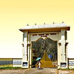 Tempel Entrance