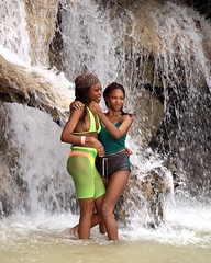 Playing on the Falls