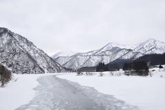 Niigata's winter river