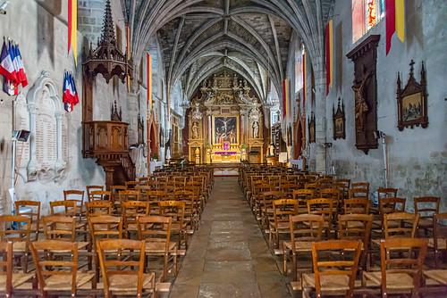 06-La nef de l'église Saint Blaise