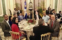 Presidente Danilo Medina realiza encuentro navideño con periodistas y representantes medios de comunicación que cubren Palacio Nacional