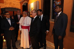 Danilo Medina entrega restaurada Iglesia Santa Bárbara de los Hombres del Mar, en Ciudad Colonial