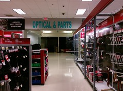 Get your optical parts here (or something like that)!