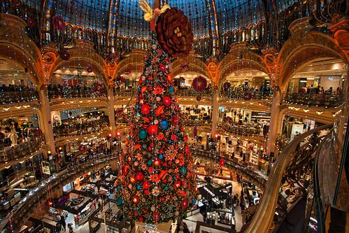 Christmas in Paris.