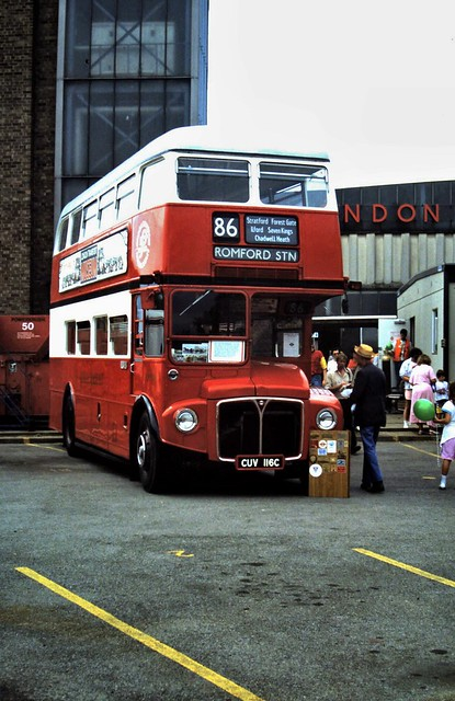 Photo:90-187  AEC Routemaster/Park Royal No. RM2116 (CUV 116C) By Clive G'