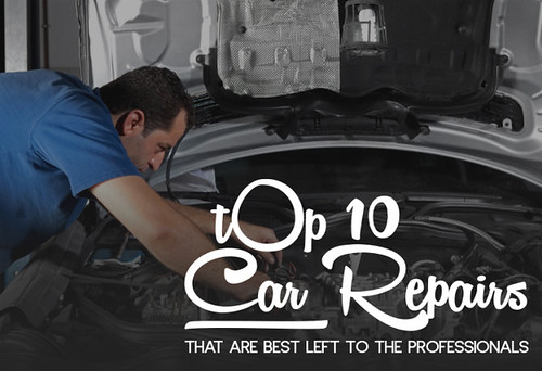 Top 10 Car Repairs That Are Best Left To The Professionals