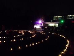 Kerzenlabyrinth