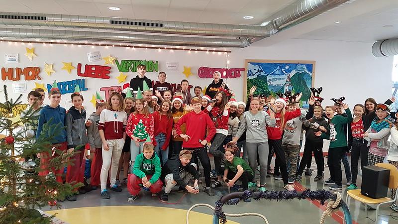 Schulprojekte NMS-Lofer: Weihnachtsüberraschung Mikula Esther 2019