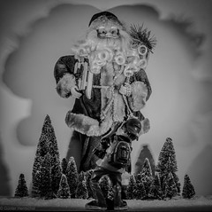 Weihnachtsmann und der Paparazzo