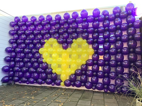 Ballonnenwand Stichting de Steenrots Katwijk