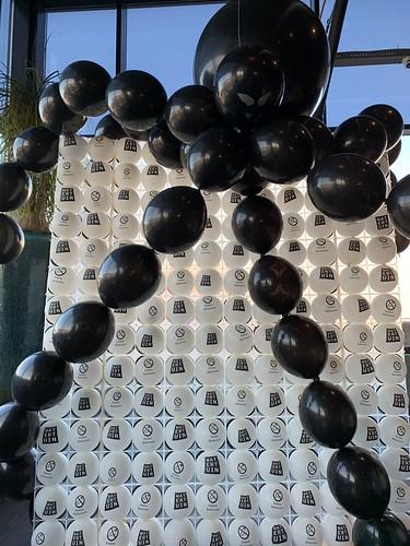 Ballonnenwand Spin Halloween Watertuin Spijkenisse