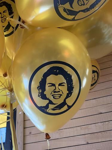 Heliumballonnen Bedrukt Roy Donders Cafe Het Witte Huis Rotterdam