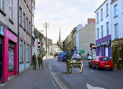 Merged old/new photographs - County Fermanagh