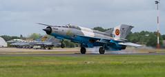 MiG-21 Landing