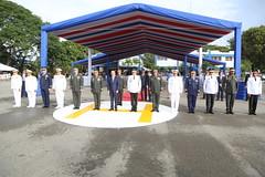 Presidente Danilo Medina encabeza XLII Promoción de cadetes de la Policía Nacional. 27 nuevos egresados