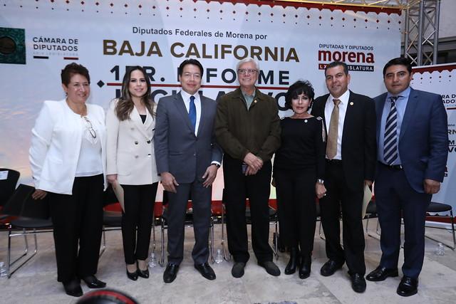 06/12/2019 1er Informe de Diputados de Baja California