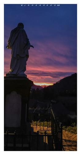 Le Christ et l'Aube...Buhl - Haut Rhin