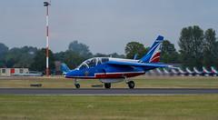 Alpha Jet Landing