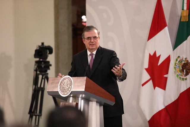 10/12/2019 Firma del protocolo modificatorio al trabajo entre los Estados Unidos Mexicanos, Los Estados Unidos de América y Canadá