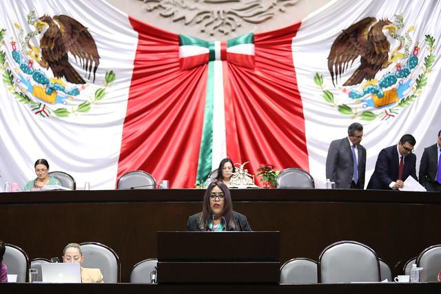 10/12/2019 Tribuna Dip. María Elizabeth Díaz García