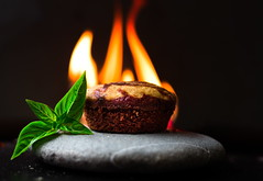 Muffin in Flames