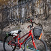 Bicycle and Wall,  Photo Walk #87, Tha Phra