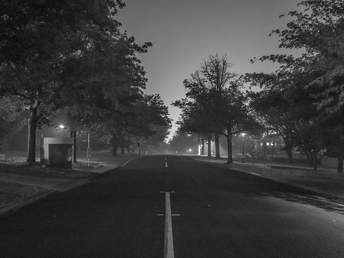 Smoky night, Canberra