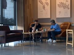 Drama at Starbucks