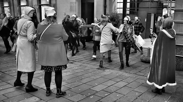 Flash mob, xmas style...