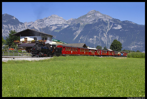 Zillertalbahn 4, Schlitters, 20-08-2012