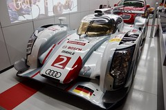 The Le Mans 2013 Winning Car - Audi Sport Team Joest's Audi R18 e-tron Quattro Driven by Tom Kristensen, Alan McNish and Loic Duval