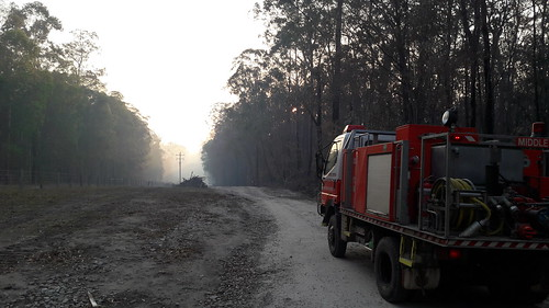 191206 6am - Patrolling the fire break