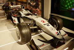 David Coulthard's 2000 Mclaren Mercedes MP4/15