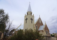 North Broken Hill. The Catholic Church of St Peter and Saint Paul. Built in 1929. A Catholic School was linked to the church. School closed. Church still has services.