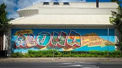 Aloha from Waikiki mural