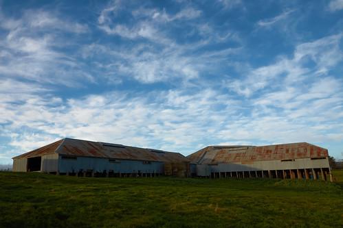 Humble & Nicholson woolpress No 1050 at Old Errowanbang Woolshed, Carcoar, NSW
