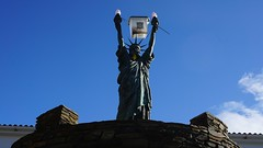 Modified Statue of Liberty in Cadaqués